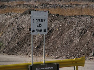 Digester gas